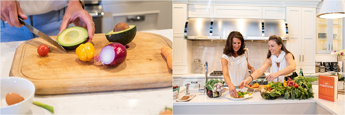Creative Headshot Photography Minneapolis healthy meal prep