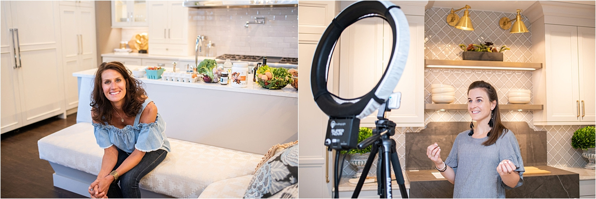 Creative Headshot Photography Minneapolis kitchen head shots