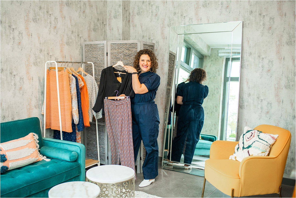 personal shopping and event space