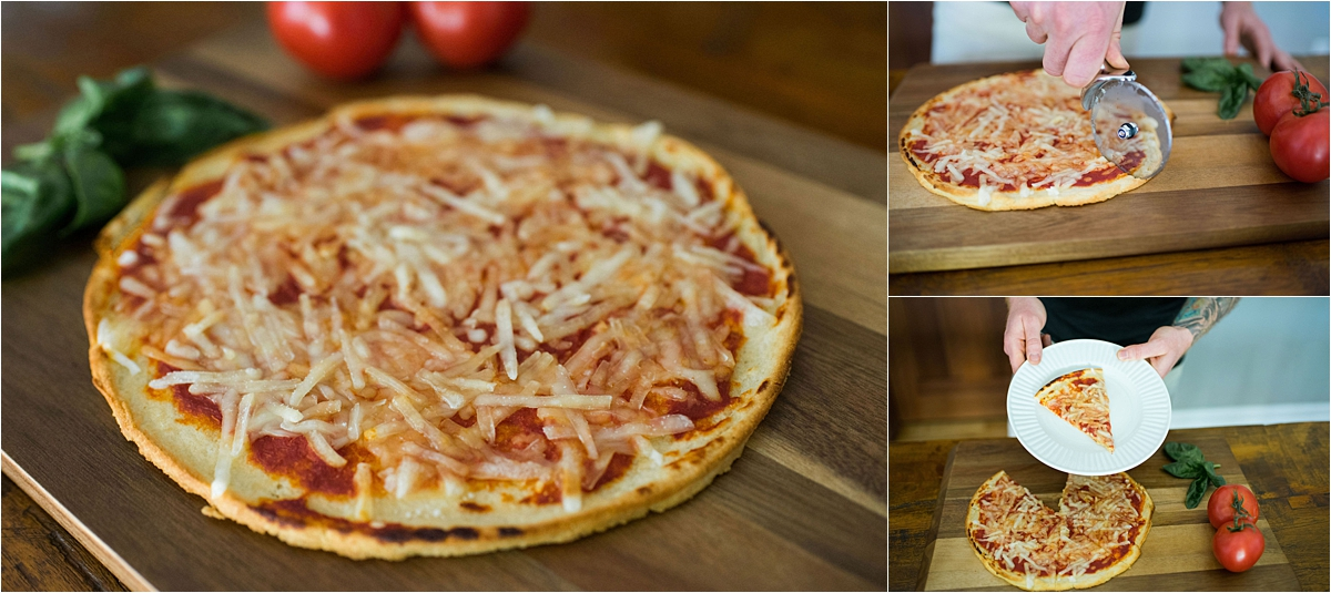 Minneapolis Food and Lifestyle Photography pizza slice